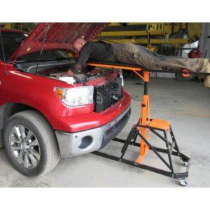 Подъемная платформа для работы над двигателем Motorist Up