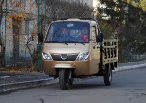 Трицикл бензиновый грузовой с полноценной кабиной ГЕРКУЛЕС J7 250