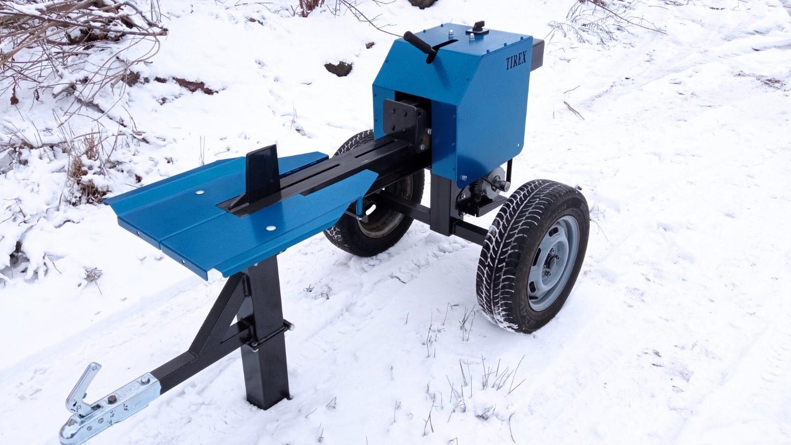 Реечный дровокол-прицеп TIREX