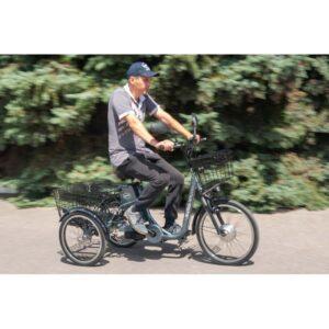 HAPPY - трёхколёсный электрический велосипед
